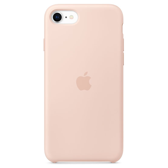 Apple Silicone Case iPhone SE - Pink Sand