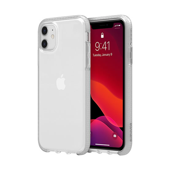 Griffin Survivor Clear iPhone 11  - Clear