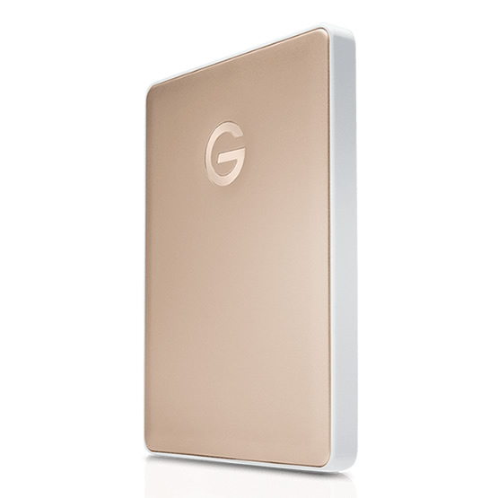 Disco Rigido Externo G-Drive 2TB USB-C - Gold