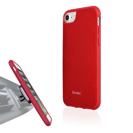 Evutec Aergo Case iPhone 7 + Vent Mount - Red