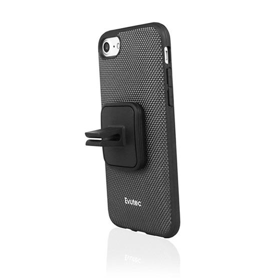 Evutec Aergo Case iPhone 7/8/SE 2 + Vent Mount - Grey
