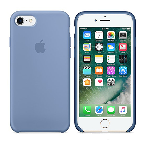 Apple Silicone Case iPhone 8/7 - Azure