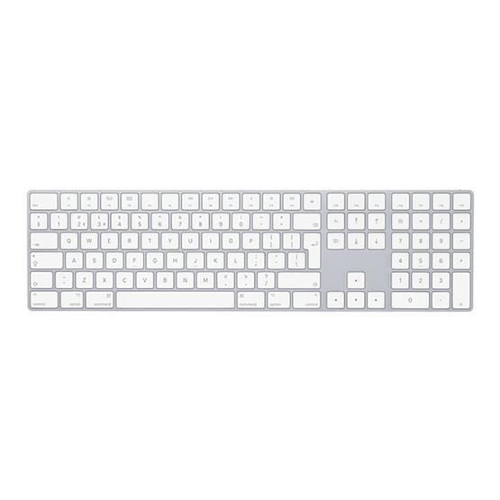 Apple Magic Keyboard w/ Numeric Keypad - Silver - Español