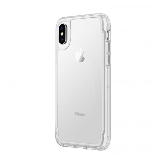 Griffin Survivor Clear iPhone X/XS - White Dust
