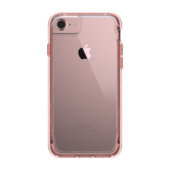 Griffin Survivor Clear iPhone 8/7/6s/6/ SE 2 - Pink