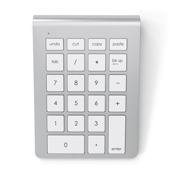 Satechi Wireless Keypad - Silver