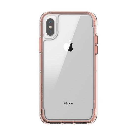 Griffin Survivor Clear iPhone X/XS - Rose Gold