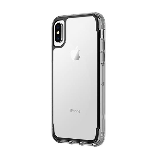 Griffin Survivor Clear iPhone X/XS - Black/Clear