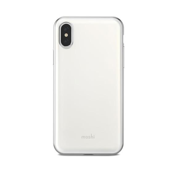 Moshi iGlaze Case iPhone X - Pearl White