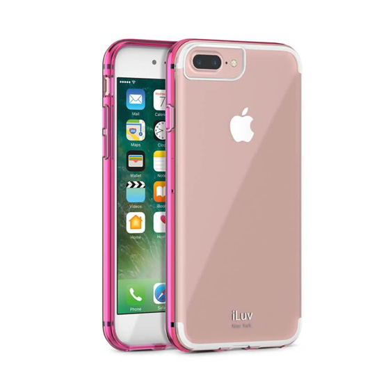iLuv Vyneer iPhone 8/7 - Pink