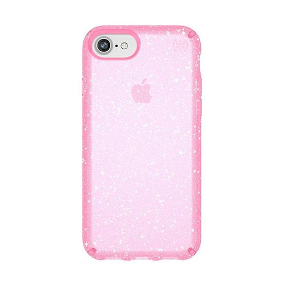 Speck Presidio Clear Glitter iPhone 8/7/6S/6 - Bella Pink