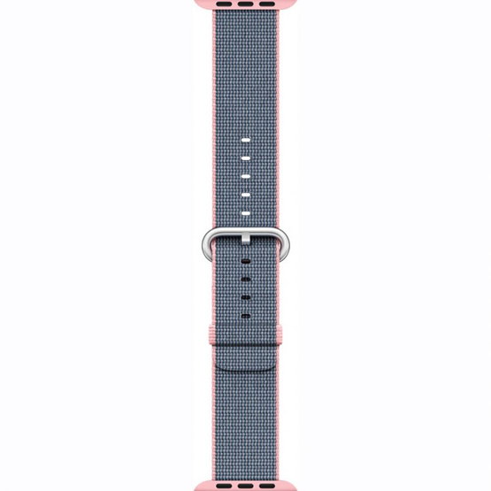 Apple Watch Woven Nylon Band 42mm - Pink/Blue