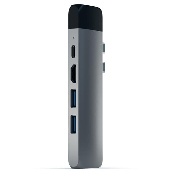 Satechi USB-C Pro Hub con Ethernet - Space gray